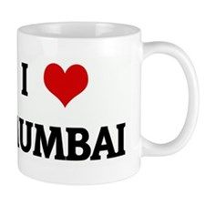 I Love MUMBAI Small Mug