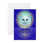 Cat Heaven Greeting Cards (Pk of 10)