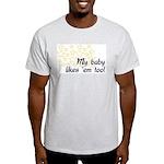 Breastfeeding Tops Ash Grey T-Shirt