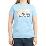 Breastfeeding Tops Women's Pink T-Shirt