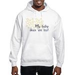 Breastfeeding Tops Hooded Sweatshirt