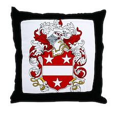 Ashbury Coat of Arms Throw Pillow