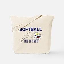 Hit It Hard Tote Bag