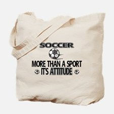 Soccer, More Than A Sport Tote Bag