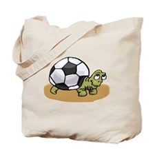 Soccer Turtle Tote Bag