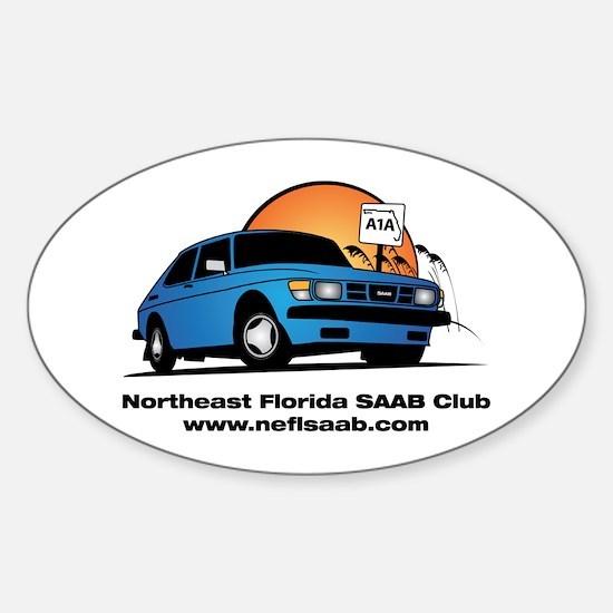 Oval Sticker - NEFLSAAB