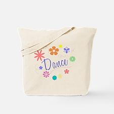 Dance Flowers Tote Bag