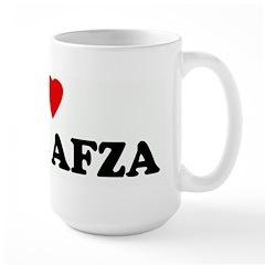I Love ROOH AFZA Mug