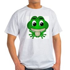 Frankie The Frog Ash Grey T-Shirt