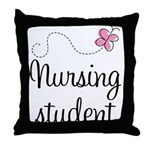 Nursing School Student Throw Pillow