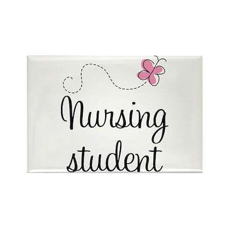 Nursing School Student Rectangle Magnet