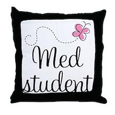 Med School Student Throw Pillow
