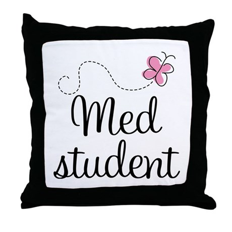 Med School Student Throw Pillow