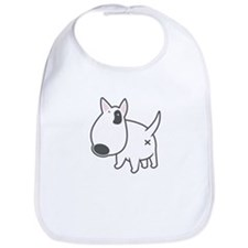 Bullterrier Illustartion - Bib