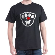 Chihuahua Longhair Black T-Shirt