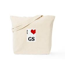 I Love GS Tote Bag