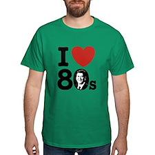 I Love The 80s Reagan T-Shirt