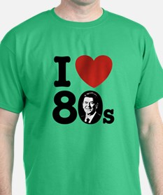I Love The 80s Reagan T-Shirt