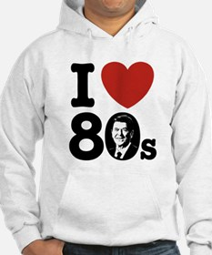 I Love The 80s Reagan Hoodie