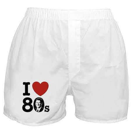 I Love The 80s Reagan Boxer Shorts
