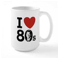 I Love The 80s Reagan Mug