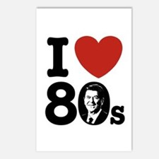 I Love The 80s Reagan Postcards (Package of 8)
