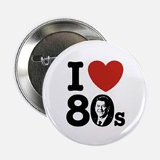 "I Love The 80s Reagan 2.25"" Button"
