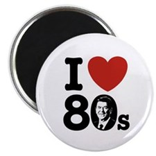 I Love The 80s Reagan Magnet
