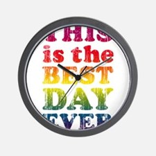 Best Day Ever Wall Clock