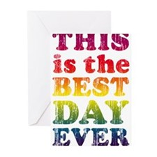 Best Day Ever Greeting Cards (Pk of 10)