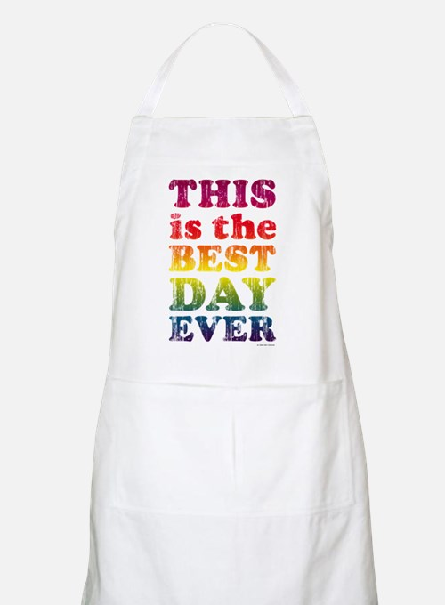 Best Day Ever BBQ Apron