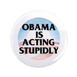 """Stupidly 3.5"""" Button (100 pack)"""