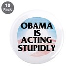 """Stupidly 3.5"""" Button (10 pack)"""