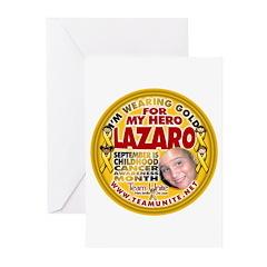 For Lazaro Greeting Cards (Pk of 20)
