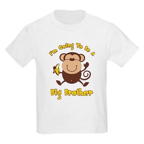 Monkey Future Big Brother Kids Light T-Shirt