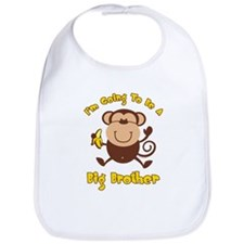 Monkey Future Big Brother Bib