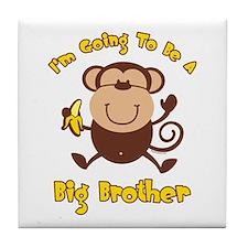 Monkey Future Big Brother Tile Coaster