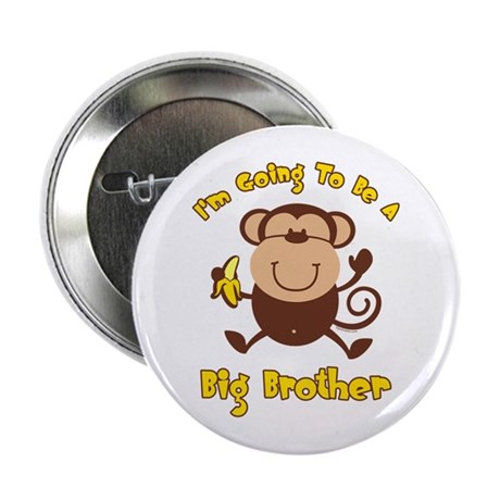 """Monkey Future Big Brother 2.25"""" Button"""
