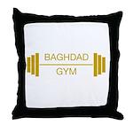 Baghdad Gym Throw Pillow