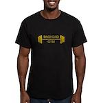 Baghdad Gym Men's Fitted T-Shirt (dark)