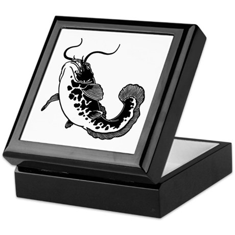 Catfish Keepsake Box