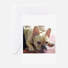 "French Bulldog ""Missing You"" Greeting Ca"