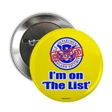"I'm on ""The List"" 2.25"" Button (100 pack)"