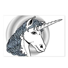 Fantasy Unicorn Postcards (Package of 8)