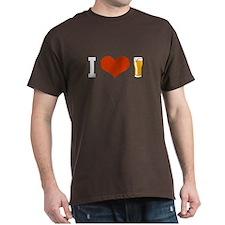 Beer - I LOVE BEER - T-Shirt