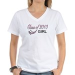 2010 GIRL Women's V-Neck T-Shirt