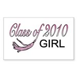 2010 GIRL Rectangle Sticker