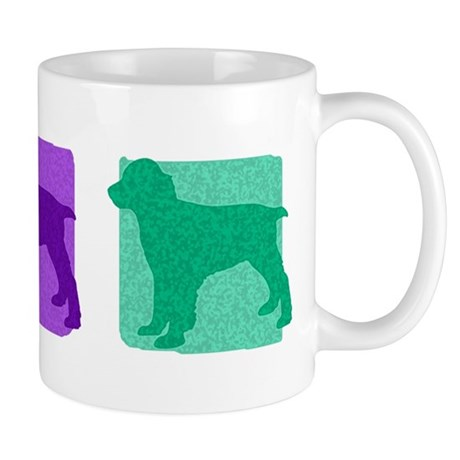 Color Row English Springer Mug