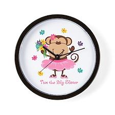 Monkey Big Sister Wall Clock