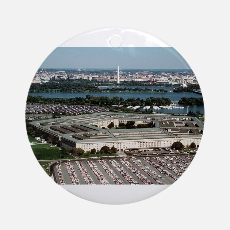 The Pentagon Ornament (Round)